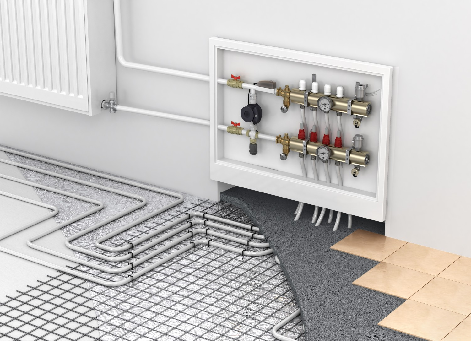 Why radiant heating could make you love your bathroom